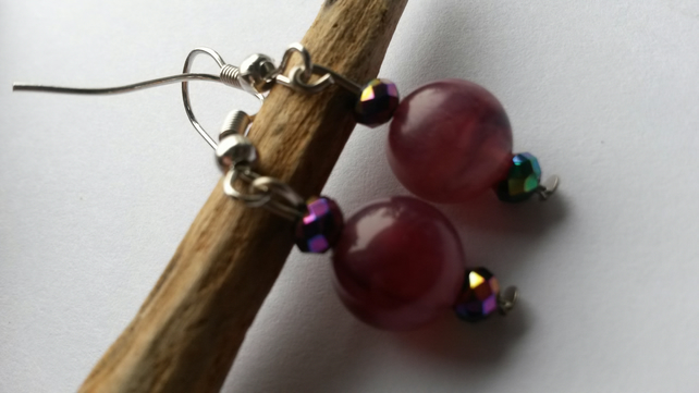 Earrings Calm and colours