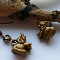 Earrings Elephants !