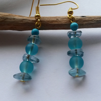 Earrings Feeling Blue