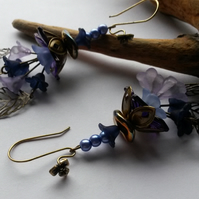 Earrings Fable in Blue