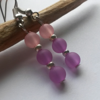 Earrings Popular In Purple