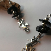 Earrings Seahorse