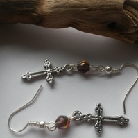 Earrings Special Cross