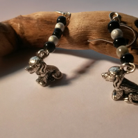 Earrings Spaniel love