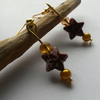 Earrings Starbursts
