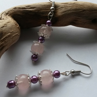 Earrings Lucy in Pink