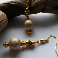 Earrings Highfield beautiful shimmer beads