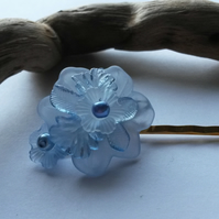Bobby Pin Frozen Flower