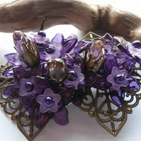 Hair Clip  Purple Essence