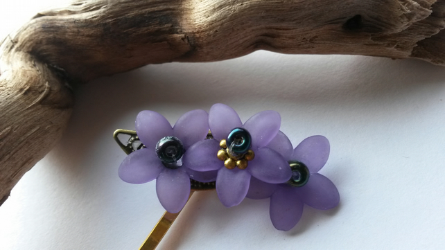 Bobby Pin Purple Trio