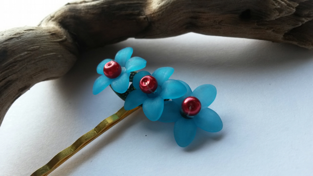Bobby Pin Nevada in Turquoise