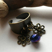 Ring Two Flowers