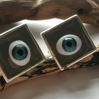 Cufflinks Square Eyes