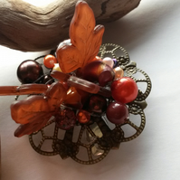 Hair Clip Charlotte of Autumn