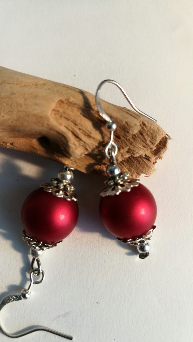 Earrings - Regency Reds