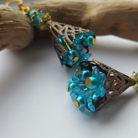 Earrings - Turquoise Large
