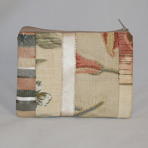 Cream Patchwork Purse