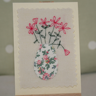 ACEO - Vase of flowers