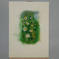 Daisies Meadow  - ACEO