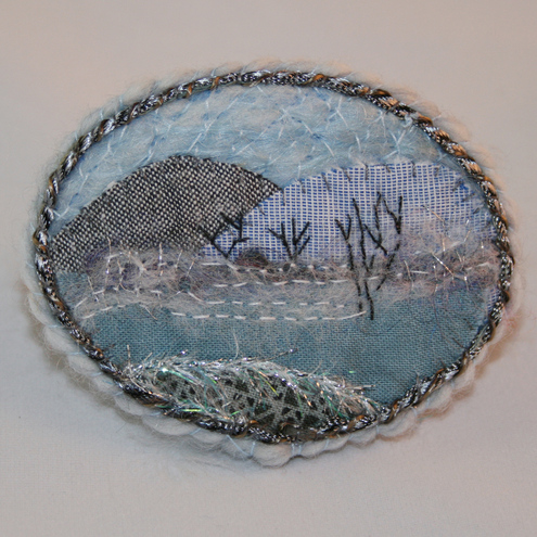 REDUCED Misty Morning - Brooch