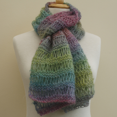 NOW 25% OFF - Rainbow Scarf / wrap