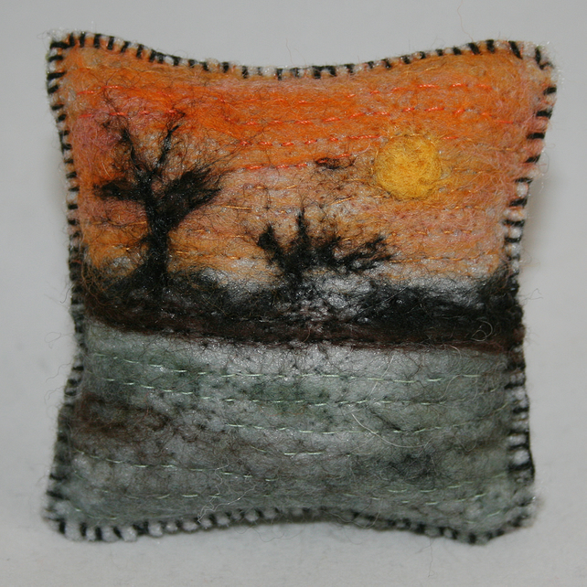 Sunset Pincushion