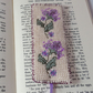 Needlepoint Bookmark - hand stitched by Lynwoodcrafts