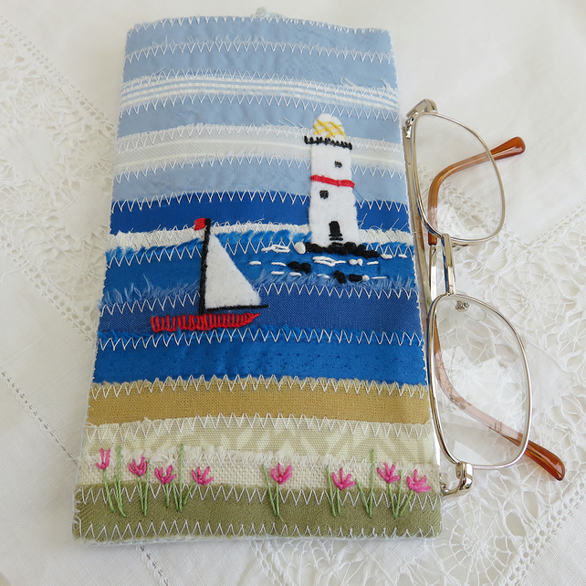 Seaside Glasses or Spectacles Case