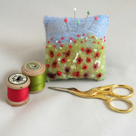 Poppies Pincushion