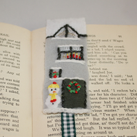 Christmas Bookmark - Terraced House