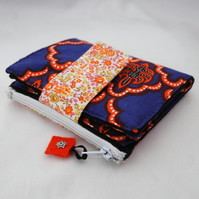 Wallet - purse - fabric wallet - fabric purse