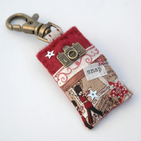 bag charm - camera bag charm - photography gift