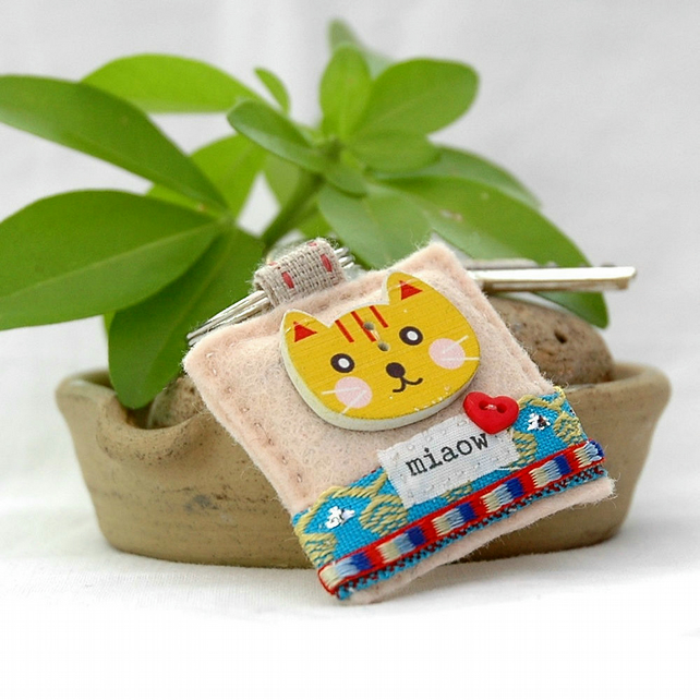 kawaii cat keyring - keyring - cat keyring