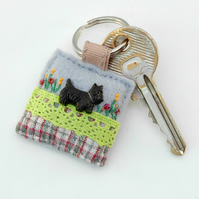 keyring - Scottie dog - Scottish Terrier