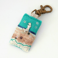 bag charm - mermaid bag charm - mermaids