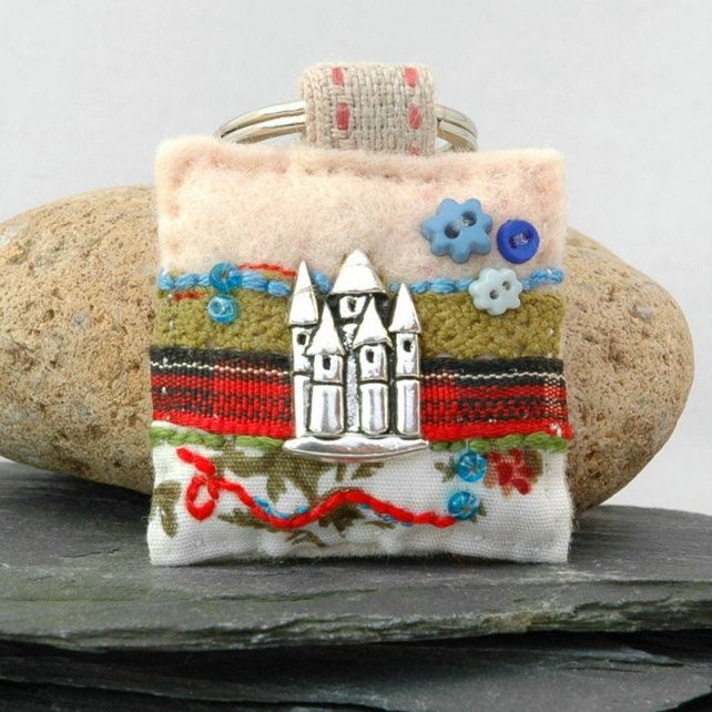 keyring - castle keyring - Scottish castle - new home