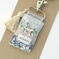 bag charm - unicorn bag charm - unicorns - mothers day gift