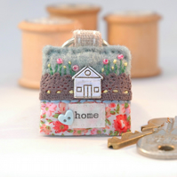 house keyring - new home gift - housewarming - tiny house