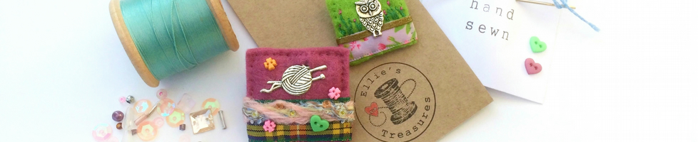 Ellie's Treasures hand sewn accessories