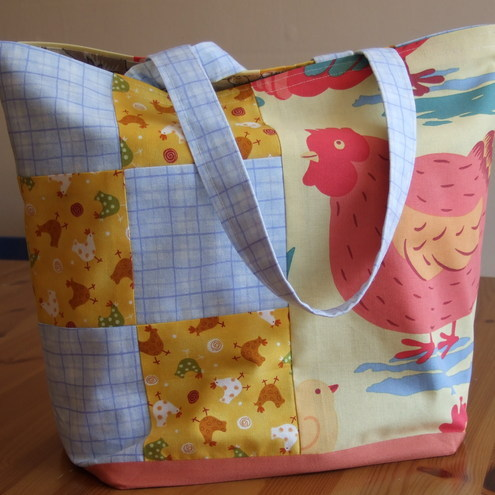 Spring Chickens Tote Bag