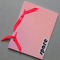 Thought Ribbon Bound Book