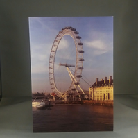 London Eye Greetings Card