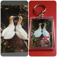 Anniversary Card with a matching Keyring. For the one you love.