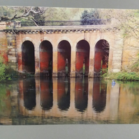 Reflections at Hampstead Heath, Greeting Card