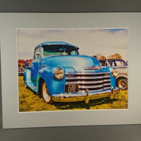 Classic Car, mounted photograph