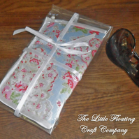 SALE - Cath Kidston Oversized Sunglasses Case - blue floral