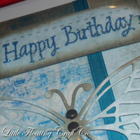 Brass Tack Butterfly Birthday