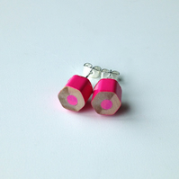 Pencil Stud Earrings Artist Teacher Gift