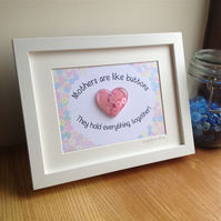 Mothers Day Gift Personalised Frame.