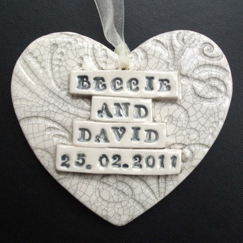 Wedding hearts made to order